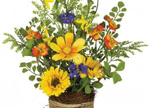 Twiggy Wildflowers Bouquet