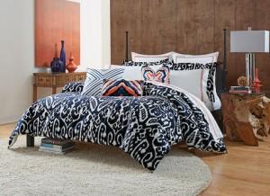 Camp Indigo Twin Comforter Set