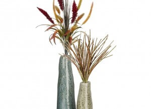 Rippling Water Vases Set of 2