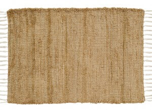 VHC Brands. Bohemian Burlap Natural Placemats, Set of 2. An outstanding addition to a Bohemian look. 100% cotton with end tassels.