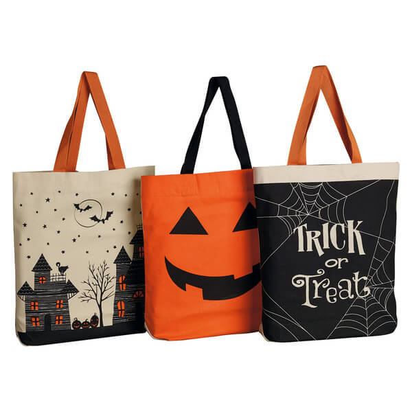 Halloween Printed Trick Or Treat Tote Collection Teton
