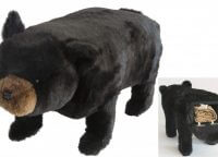 Big Ben Black Bear Storage Footstool