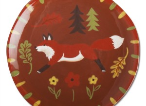 Forest Fox Appetizer Plate