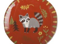 Forest Remy Raccoon Appetizer Plate