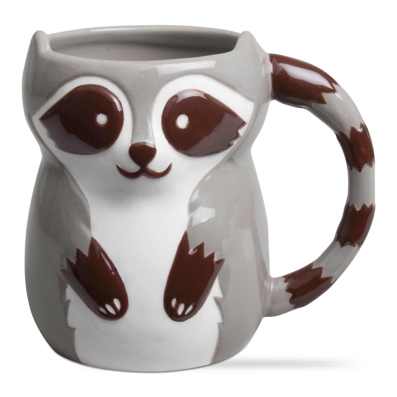 Long Kitchen Forest Friends Ceramic Mugs Teton Timberline Trading
