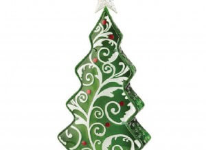 Christmas Tree Electric Tabletop Lamp