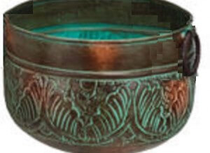 Bronze Leaves Medium Planter
