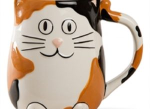 Calico Cat Ceramic Mug
