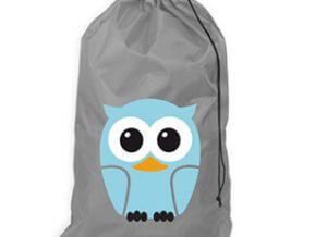 Blue Owl Laundry Bag