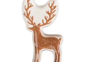 Golden Stag Character Serving Plate