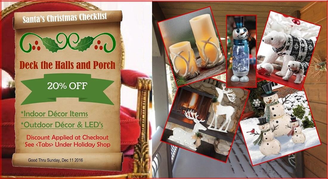 Santa's Christmas Checklist Specials-3rd Item