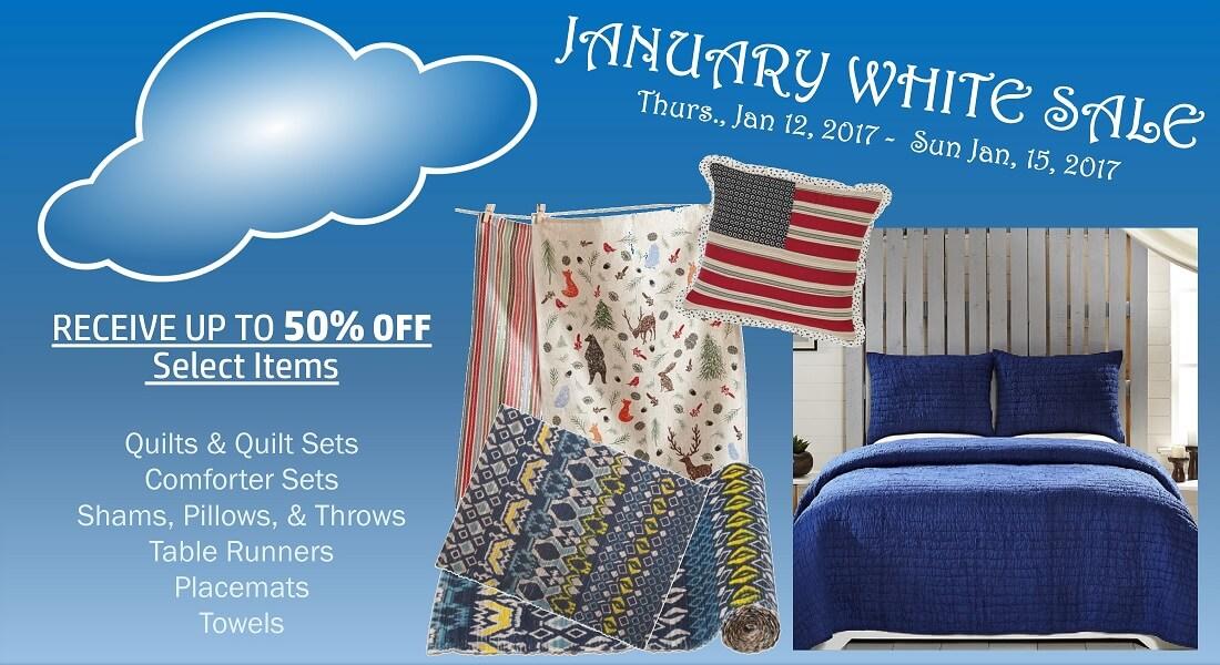 January White Sale