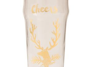 Cheers Golden Stag Pint Glass