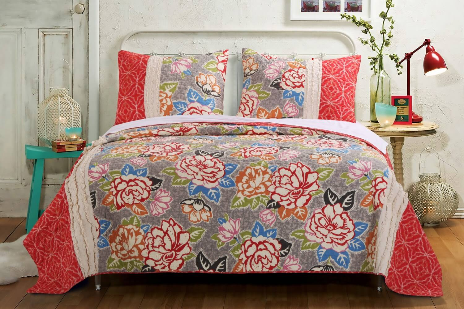 Gypsy Rose Quilt Collection - Teton Timberline Trading Lightweight ... : timberline quilt - Adamdwight.com