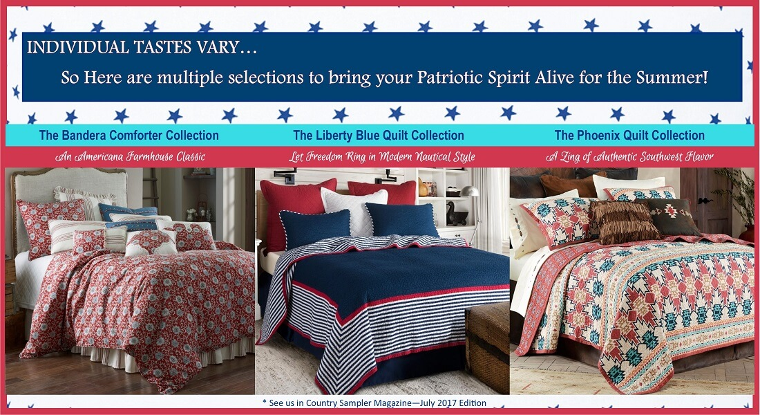 Patriotic Spirit in Summer