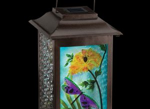 Solar Garden Dragonfly Hanging Lantern