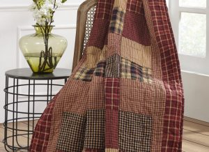 Rutherford Quilted Throw