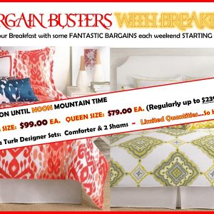Bargain Busters with Breakfast