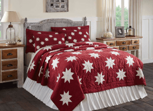 Kent Snowflake Quilt Collection, Christmas Bedding & Quilts
