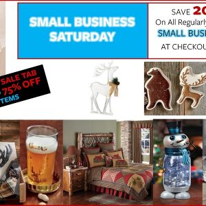 Small Business Saturday Savings