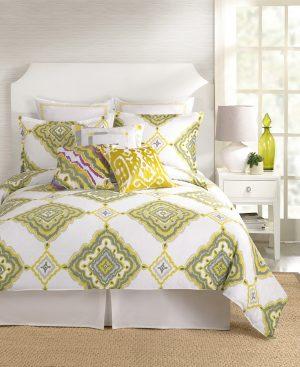 Sunny Garden Gate Villa Queen Comforter Set