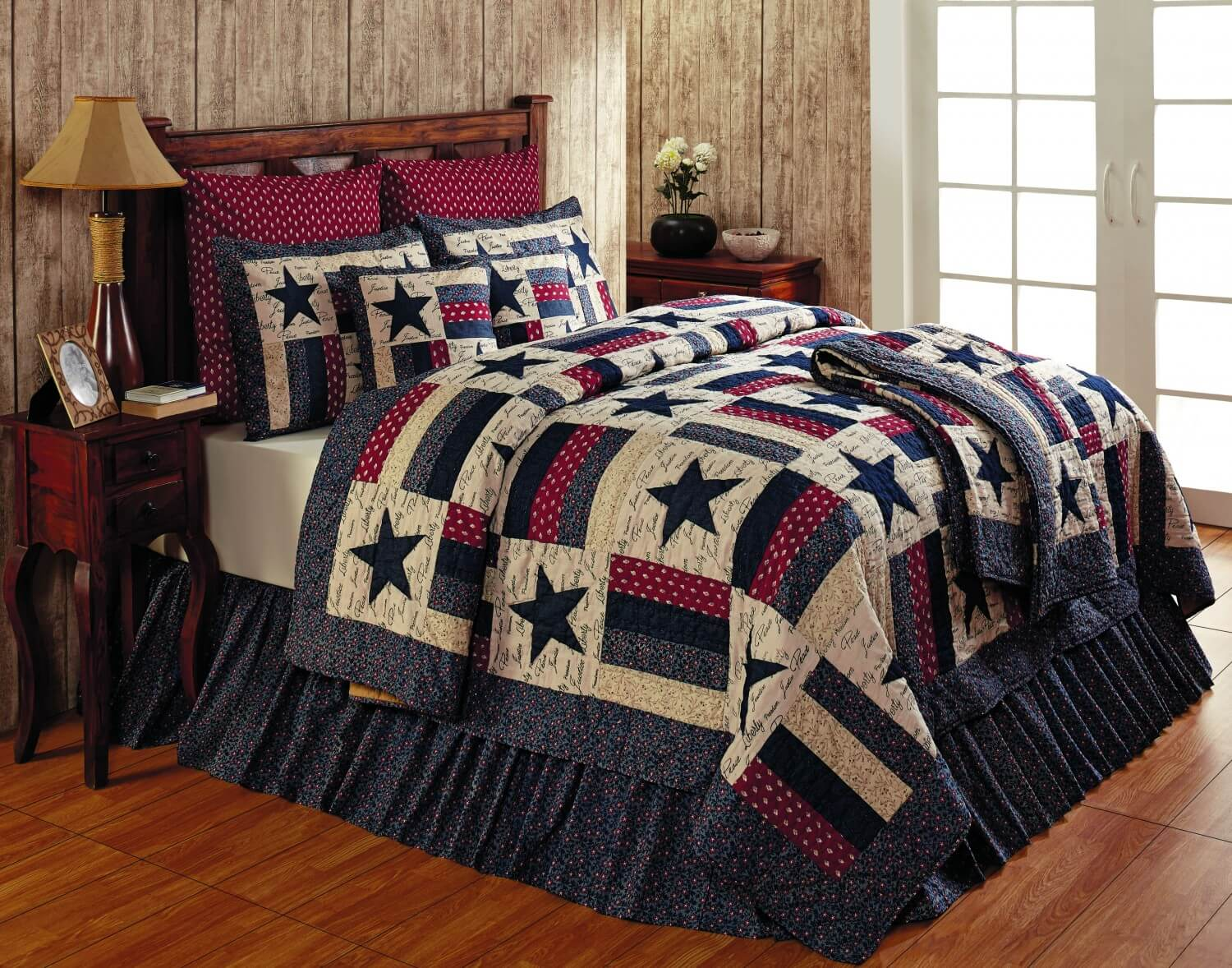 country set quilt hill full queen sets