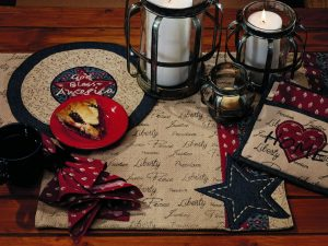 Liberty Sayings Placemat Set