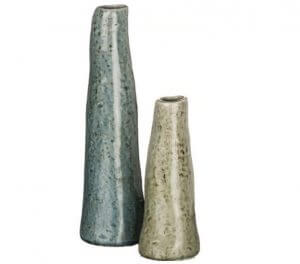 Rippling Water Vases, Set of 2