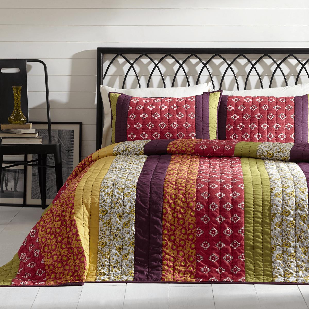 Emma Queen Quilt Set Teton Timberline Trading Boho Bedding