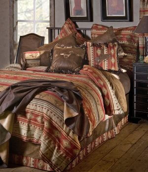 Bucking Bronc King Comforter Set