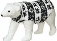 Large Nordic Sweater Bear