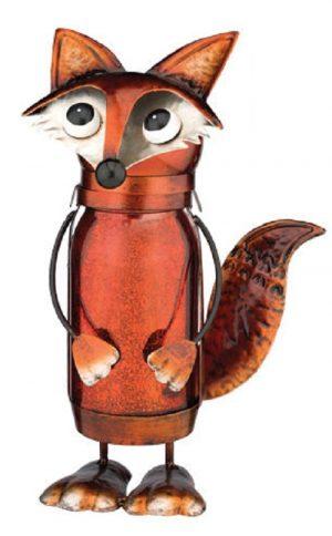 Fox LED Jar Lantern