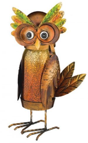 Owl LED Jar Lantern