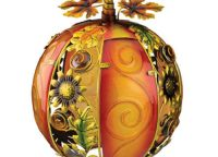 Sunflower Glass Pumpkin