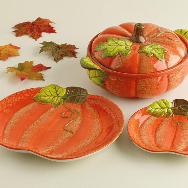Pumpkin Casserole Baker Teton Timberline Trading
