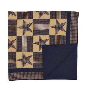 Teton Star Quilt Folded