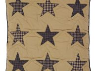 Teton Star Quilted Euro Sham