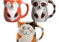 Forest Friends Ceramic Mugs