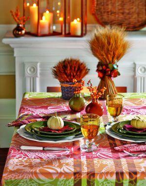 Harvest Jacquard Tablecloth