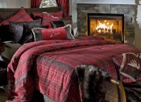 Highland Lake Plaid King Comforter Set