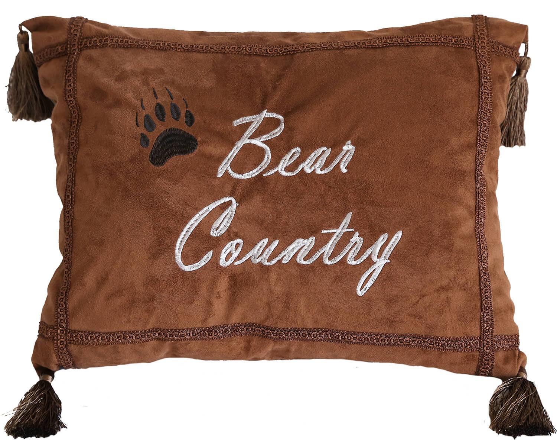 Bear Country Throw Pillow Teton Timberline Trading