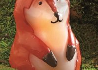 Flameless LED Franny Fox Candle