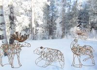 Lodge Metal Wildlife Decor