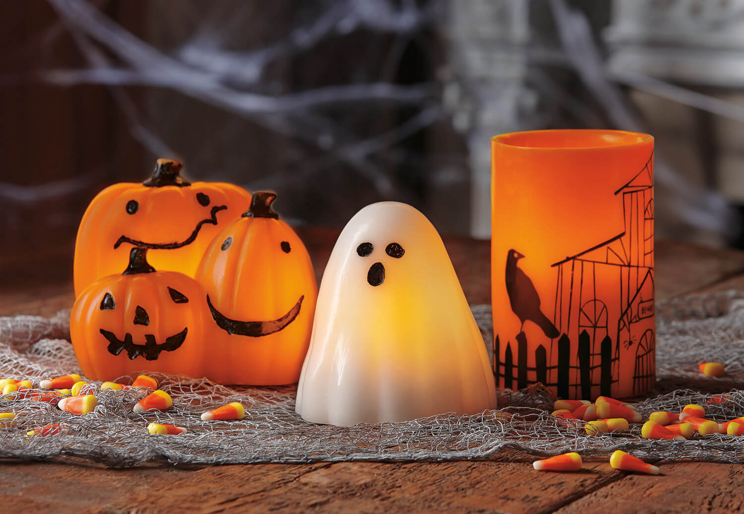 flameless led ghost candle - teton timberline trading