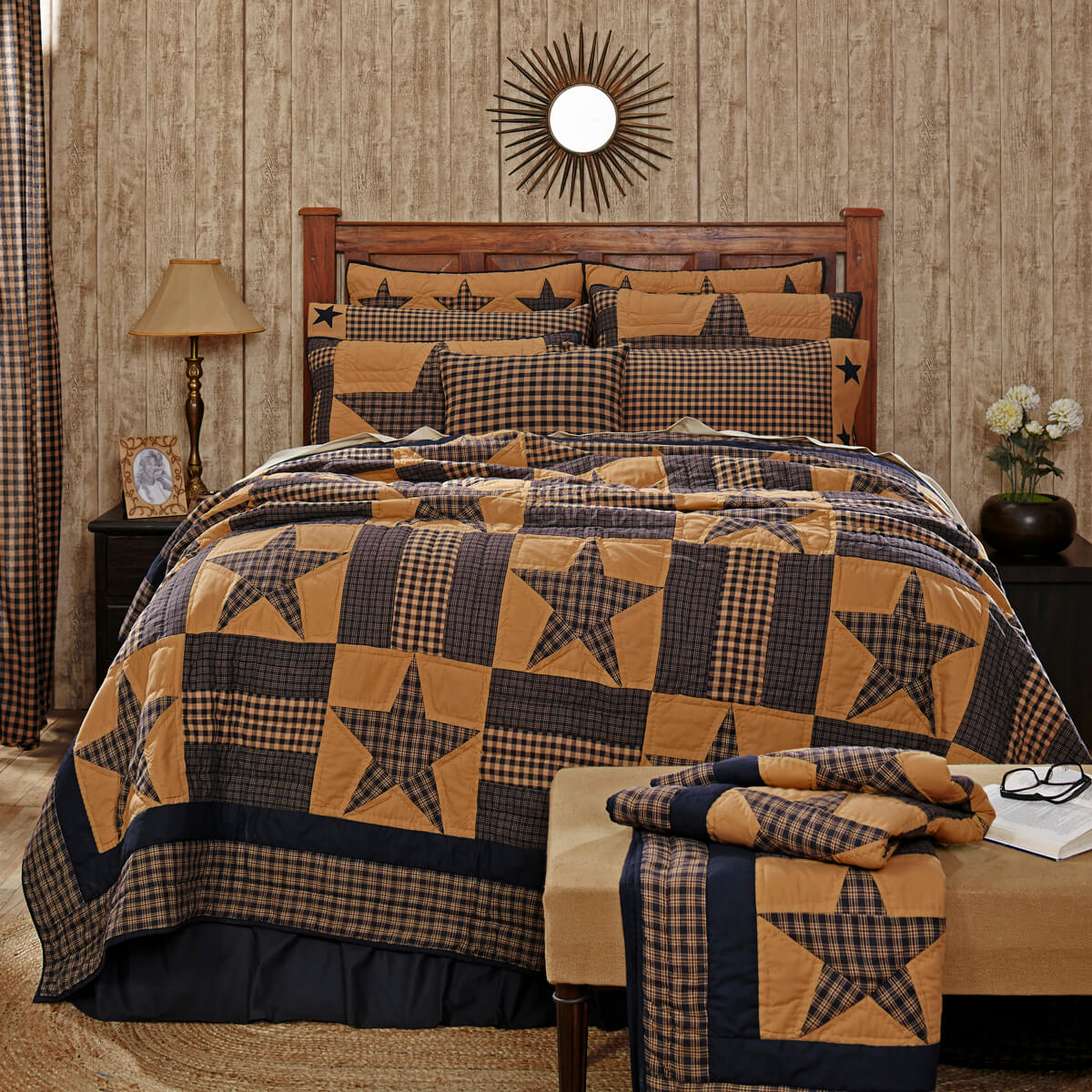 Teton Star Twin Quilt