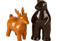 Bear and Deer Salt and Pepper Shaker Set