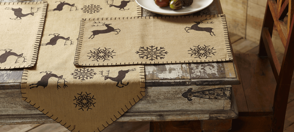 Holiday Table Linens
