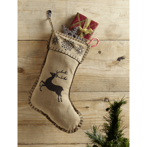 Prancer Christmas Stocking