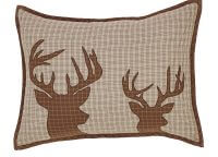 Tallmadge Lodge Deer Pillow Cover