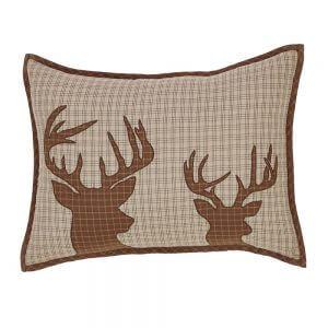 Tallmadge Lodge Deer Pillow Cover